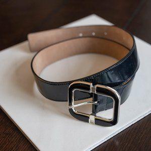 Patent Leather Black Belt
